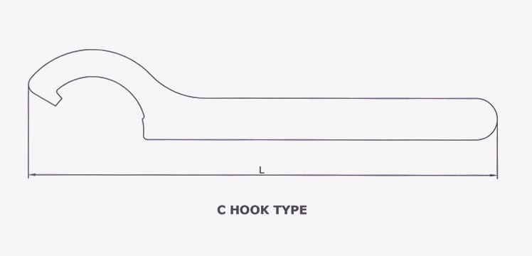 C Hook  Multi Hook  U0026 M Type Spanners I Turnmax Machine Tools