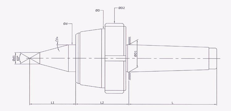 Cnc Hd R Model With Draw Off Nut Extended Point